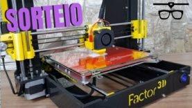 Esta é sua chance de GANHAR uma impressora 3D – Sorteio